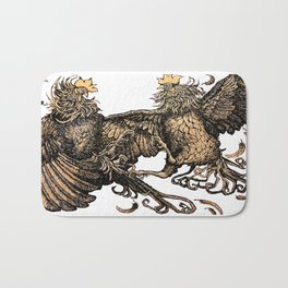 Two Kings - Roosters Bath Mat