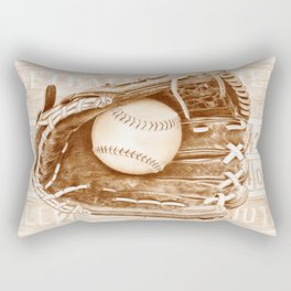 Softball Rectangular Pillow