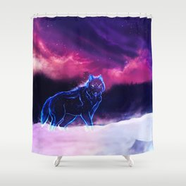WOLF - Fang Of The North Shower Curtain