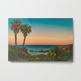 Warm Sunset Tropics (Color) Metal Print