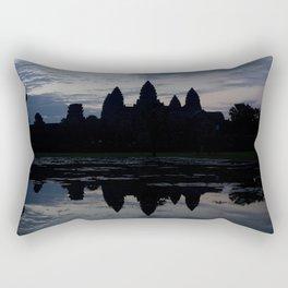 Angkor Wat Sunrise Rectangular Pillow