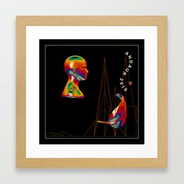 Future Framed Art Print