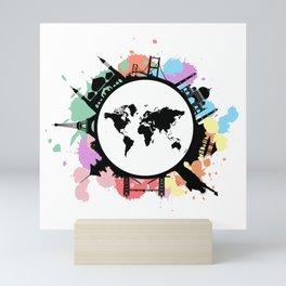 It's travel time Mini Art Print