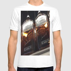 Gentleman Jack MEDIUM White Mens Fitted Tee