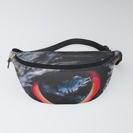 Sight: The Eyes of an Eagle Owl Fanny Pack