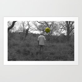 The Man Art Print