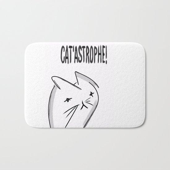It's a Cat 'astrophe!!! Bath Mat