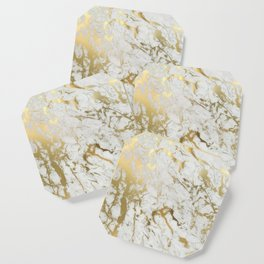Gold marble Coaster