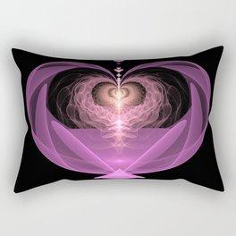 Fluttering Heart Rectangular Pillow
