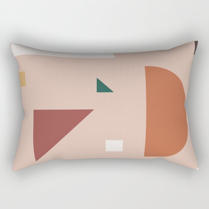 Abstract Geometric 31 Rectangular Pillow