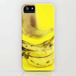 Grab a banana iPhone Case