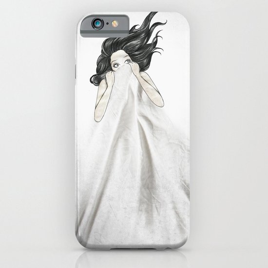 White As A Sheet iPhone & iPod Case