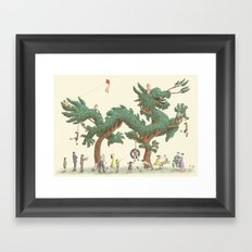 The Night Gardener - The Dragon Tree Framed Art Print