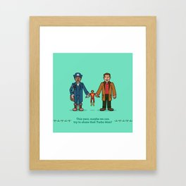 Myron and Howard Framed Art Print