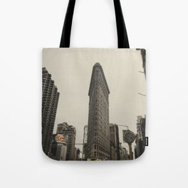 Flatiron building, New York architecture, NY building, I love NYC Tote Bag