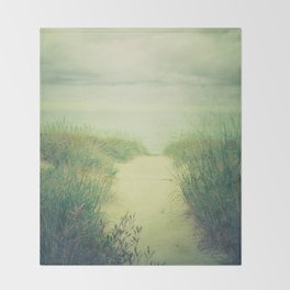Finding Calm Throw Blanket