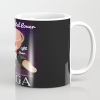 heavy metal Mugs featuring Heavy Metal Lover ♥ by Chimi-uzz