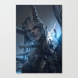 Tooth and Bone Canvas Print