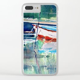 Dinghies Clear iPhone Case