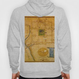 Map Of New Haven 1748 Hoody