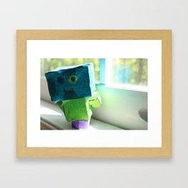 Robot Henry Framed Art Print