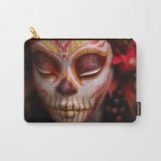 Crimson Harvest Muertita Detail Carry-All Pouch