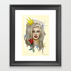Goddess of LOVE Framed Art Print