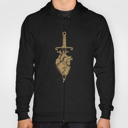 Sword and Heart Ink Hoody