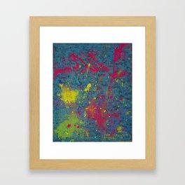 Fluorescent Dream Framed Art Print