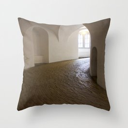 Copenhagen Round Tower 2 Throw Pillow