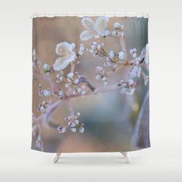 Frosty Viburnum Shower Curtain
