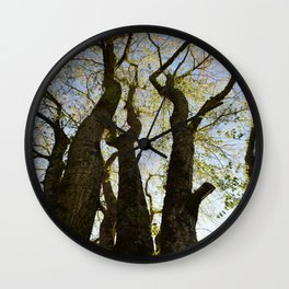 Evening Gathering Wall Clock