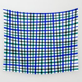 Scottish patron in blue Wall Tapestry