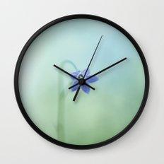 The Morning Blues Wall Clock