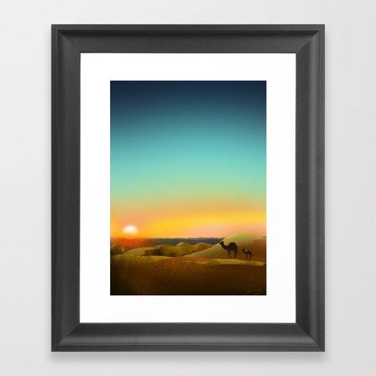 Sahara Sunset by hannahkellermedia