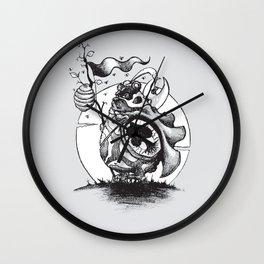 Nature Warriors: Honey Bear Wall Clock