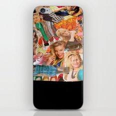 magazine collage iPhone & iPod Skin