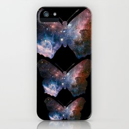 Cosmic Butterfly iPhone Case