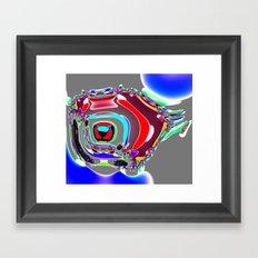 Bent Spots 4 B Framed Art Print