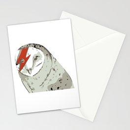 Labyrinth movie jareth Owl Stationery Cards