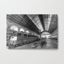 Budapest Keleti Railway Station Metal Print