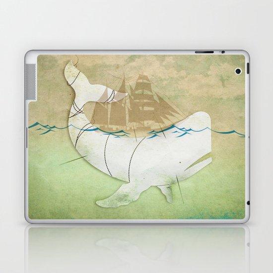 The ghost of Captain Ahab  Laptop & iPad Skin