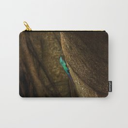Turquoise Bermuda Lizard Carry-All Pouch