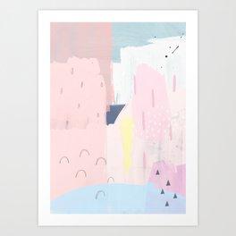2001 abstract Art Print