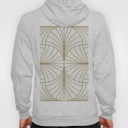 Diamond Series Inter Wave Gold on White Hoody