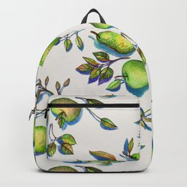 Summer's End - apples and pears Backpack