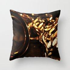 Summer Jazz Throw Pillow