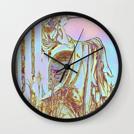 Idle Eden Wall Clock