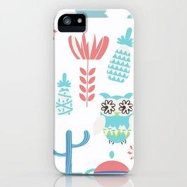 Travel pattern 3vb iPhone Case