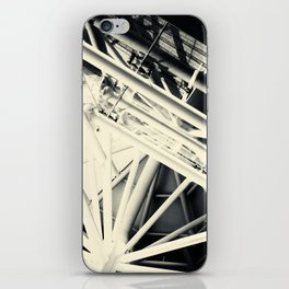 Spider Roof Struts Abstract iPhone Skin
